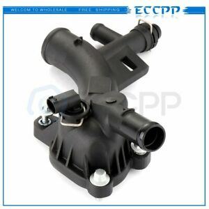 Thermostat Housing For Chevy Sonic Cruze 1 4l 1 8l 2011 2012 2013 2014 2015