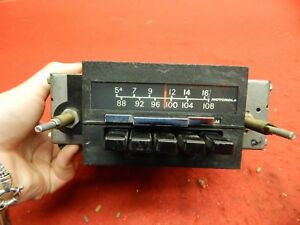 Used 60 S 70 S Motorola Am Fm Radio Assembly 5f2rfm6
