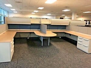 7 1 2 X 10 X 64 h 48 h Combo Cubicle System By Haworth Premise