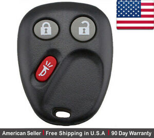 1x New Replacement Keyless Entry Remote Control Key Fob For Chevy Gmc Cadillac