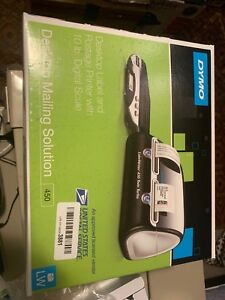 Dymo Desktop Mailing Solution 450 Labelwriter Twin Turbo Label Printer And Scale