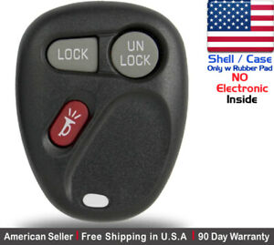 1x New Replacement Keyless Remote Key Fob For Gm 2002 2003 Saturn Vue Shell Case