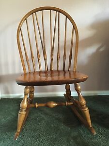 Antique Ladies Sewing Rocker