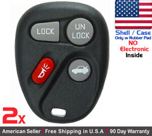 2x Replacement Keyless Remote Key Fob For Saturn Ion Gm 2003 2007 Shell Case