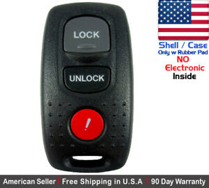 1x Replacement Keyless Entry Remote Key Fob For 2007 2009 Mazda 3 Shell Case