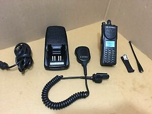 Xts3000 P25 Digital Motorola Police Security 800 Trunking Radio W programming