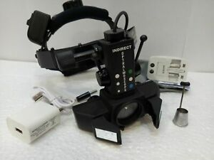 Led Indirect Ophthalmoscope Reachargeable Wireless 20d Aspheric Lens