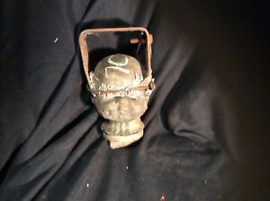 Industrial Factory Copper Doll Head Mold Steampunk Altered Art
