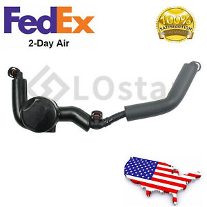 New Crankcase Pcv Breather Pipe Hose With Vent Valve Fits Bmw 550i 650i 750i