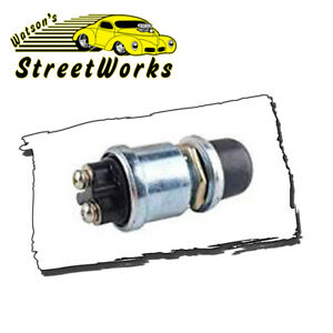 Push Button Waterproof Momentary Starter Switch For Marine Hot Rod Street Rod