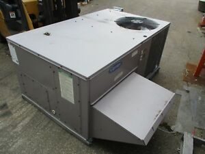 Carrier Rooftop Unit 48tfe006 611 5 ton 460v 3ph Mfd 2007 Used