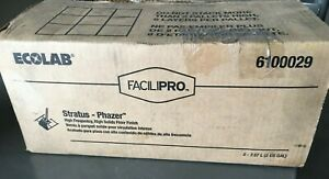 Ecolab 6100029 Facilipro Phazer High Frequency High Solids Floor Finish 2 2gl