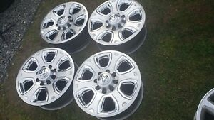 2477 Dodge Ram 2500 3500 20 Factory Oem Silver Wheels 2013 2018 1vq85trmaa