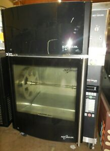 Used Alto shaam Ar 7evh Rotisserie Oven With 7 Spits With Ventless Hood