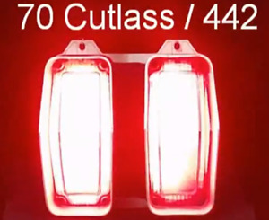 1970 Oldsmobile Cutlass 442 F85 W31 Led Sequential Tail Lights Retrofit