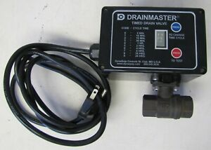 Dynaquip Controls Drainmaster Timed Drain Valve For Air Compressor