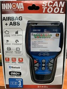Innova 3140g Obd2 1 Scantool Kit With Airbag Abs With Live Data