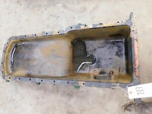 John Deere 4020 Gas Tractor Engine Oil Pan Part r27185 Tag 227