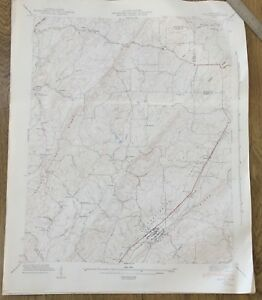 Vintage 1942 Tennessee Map Niota Sweetwater Tn Usgs Topo Map