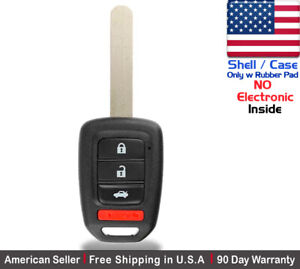 1x New Replacement Key Fob Case For Honda Civic Crv Accord Mlbhlik6 1t Shell