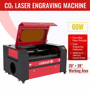 60w 20 X 28 700x500mm 110v Co2 Laser Engraving Machine Laser Engraver Cutter