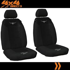 1 Row Custom Rm Williams Mesh Seat Covers For Ford Falcon Ute 91 98 C