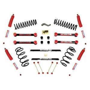 For Jeep Wrangler 97 02 Suspension Lift Kit 4 X 3 3 5 Rock Ready Coil Spring