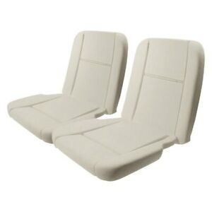 For Ford Mustang 1965 1966 R 103pr Deluxe Interior Bucket Seat Foams Pair