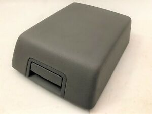 04 08 Ford F150 Center Console Cover Lid Armrest Arm Rest Gray