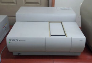 Hitachi U 3310 Uv vis Spectrophotometer