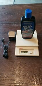 Rare Ohaus LS 2000 Electronic Scale WPower Supply LbsOz Or g Accurate Portable