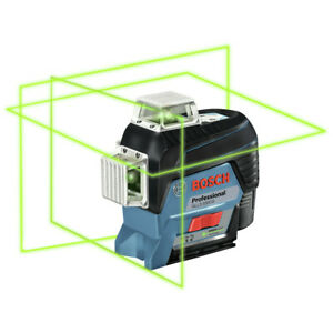 Bosch 360 degrees Green beam Leveling And Alignment line Laser Gll3 330cg New