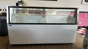 Ice Cream Dipping Cabinet 91 Inch