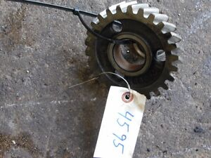 John Deere 4020 Diesel Tractor Ventilation Pump Gear Part R26399r Tag 4595