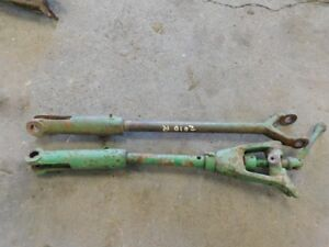 John Deere 2010 Tractor Pair Of Draft Arms Right Left Part t12531t Tag 899