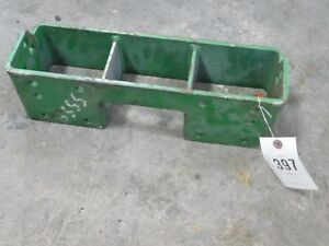 John Deere Compact Utility Weight Bracket Tag 397