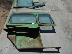 John Deere 5020 Tractor Rightside Cab Frame W 2 Side Windows Tag 2636