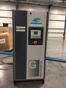 Atlas Copco Model Ga15 vsd 20 Hp 460v 3ph 14 8 86 cfm Rotary Screw Compressor