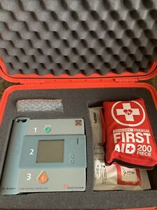 Philips Aed With New Battery Pads First Aid Kit And Pelican Style Case