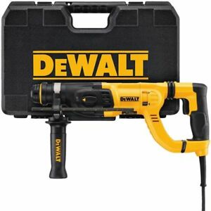 Dewalt D25262k 1 Sds Rotary Hammer Drill Kit Free Priority Shipping