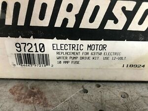 Moroso 97210 Electric Motor Water Pump Motor
