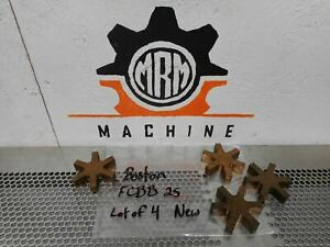 Boston Fcbb 25 Bronze Coupling Spider Inserts New Old Stock lot Of 4