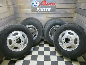 2003 2012 Chevrolet Silverado Sierra 3500 Dually Alloy Wheel Tire Set