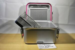 Genesis Sterilization Container Half length Cd1 6st With Basket 1500 003