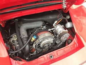 Porsche 930 Early Turbo 3 0 Engine