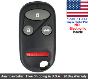 1x New Replacement Remote Case Key Fob For Honda Accord Acura Shell Only