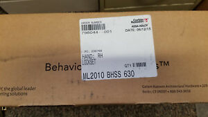 Corbin Russwin Ml2010 Bhss 630 Rh Behavioral Health Passage Mortise Lock Set