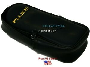 Fluke Vinyl Soft Carrying Case For Multimeters In Good Conditions used