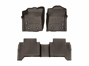 Weathertech Floorliner Mats For Manual Toyota Tacoma 2018 2019 1st 2nd Row Cocoa