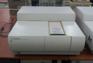 Hitachi U 3300 Uv vis Spectrophotometer